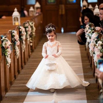 Hochzeitskleider für Kinder | Blumenmädchen Kleid_3