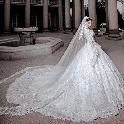 Hochzeitskleider Prinzessin Online | Brautkleider Mit Ärmel_2
