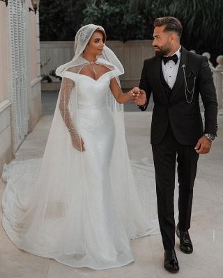 Fashion Brautkleider mit Glitzer | Hochzeitkleider Meerjungfrau Online_7