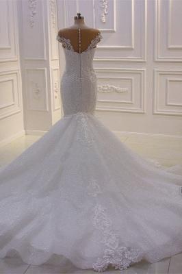 Designer Hochzeitskleider Meerjungfrau   Brautkleider mit Spitze_5