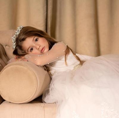 Hochzeitskleider für Kinder Mädchen | Blumenmädchen Kleider Günstig_3