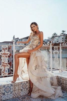 Luxus Abendkleider Lang Günstig | Abiballkleider mit Glitzer_1