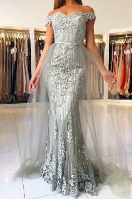 Evening dresses long lace glitter | Evening dress large sizes_1