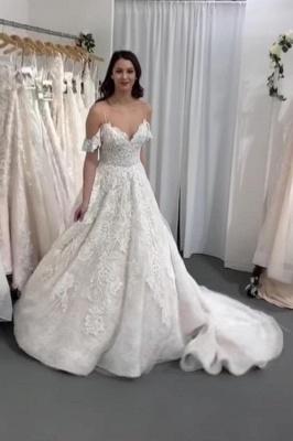 Wunderschöne Brautkleid A Linie | Hochzeitskleider Mit Spitze Online