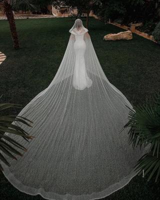 Fashion Brautkleider mit Glitzer | Hochzeitkleider Meerjungfrau Online_4