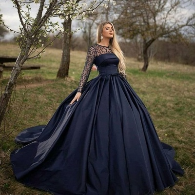 Princess evening dresses with sleeves | Buy evening wear online_2
