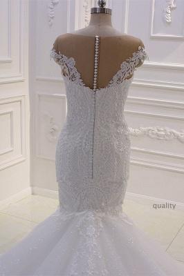 Designer Hochzeitskleider Meerjungfrau   Brautkleider mit Spitze_4