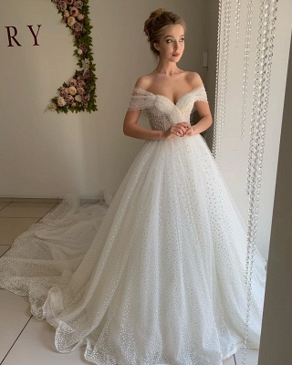 Beautiful wedding dresses princess | Wedding dresses tulle with lace_3
