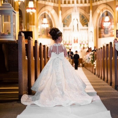 Hochzeitskleider für Kinder | Blumenmädchen Kleid_2