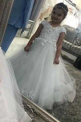 Hochzeitskleider für Kinder in Weiß | Blumenmädchen Kleid Günstig