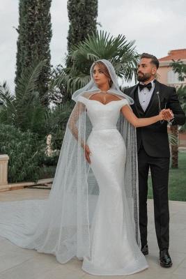 Fashion Brautkleider mit Glitzer | Hochzeitkleider Meerjungfrau Online_1