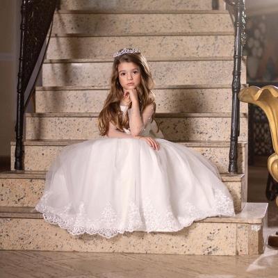 Hochzeitskleider für Kinder Mädchen | Blumenmädchen Kleider Günstig_2