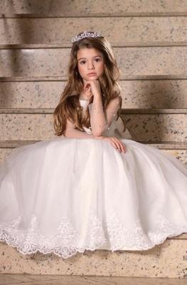 Hochzeitskleider für Kinder Mädchen | Blumenmädchen Kleider Günstig