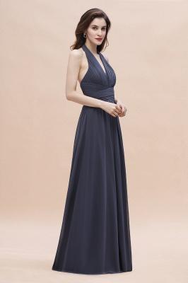Schlichtes Abendkleid Chiffon | Brautjungfernkleider Lang Günstig_6