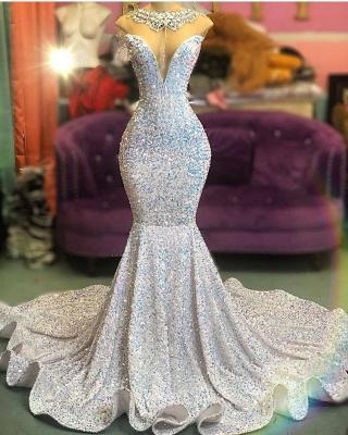 Luxus Abendkleider Lang Glitzer | Abiballkleider Abenmoden Online_1