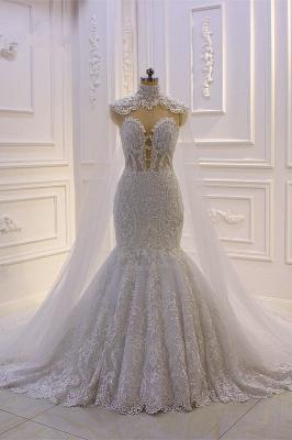 Designer Brautkleider meerjungfrau Spitze | Extravagante Hochzeitskleider