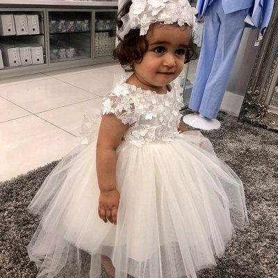 Blumenmädchen Kleid Weiss | Blumenmädchenkleider Günstig Online_2
