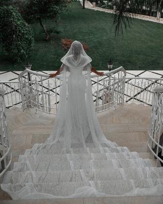 Fashion Brautkleider mit Glitzer | Hochzeitkleider Meerjungfrau Online_2