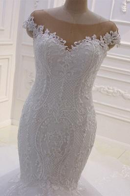 Designer Hochzeitskleider Meerjungfrau   Brautkleider mit Spitze_3