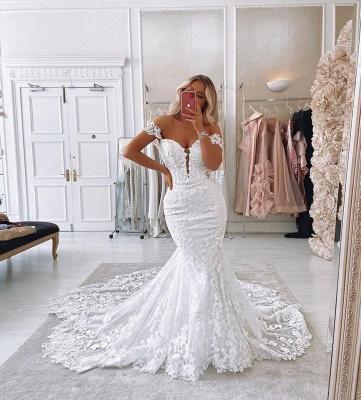Designer Hochzeitskleider Meerjungfra | Brautmoden Spitze Online_3