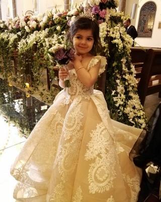 Wunderschöne Kinder Hochzeitskleider | Blumenmädchenkleider Günstig_2