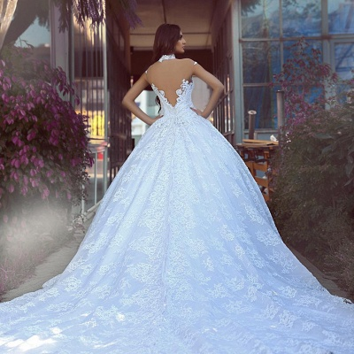 Elegant wedding dresses with lace | Wedding dresses princess online_3