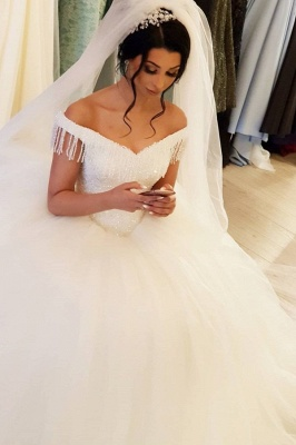 Elegant wedding dresses princess | Wedding dresses with lace_1