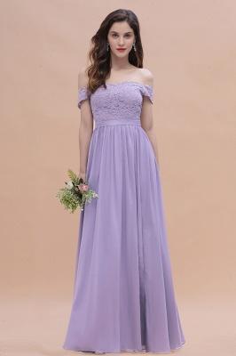 Brautjungfernkleider Lang Lavender | Hochzeitsgäste Partykleider Günstig_1