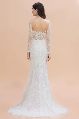 Designer Brautkleider Meerjungfrau | Hochzeitskleider Spitzeärmel_2