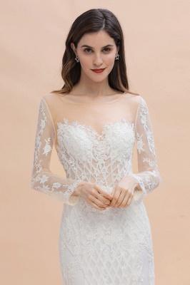 Designer Brautkleider Meerjungfrau | Hochzeitskleider Spitzeärmel_6