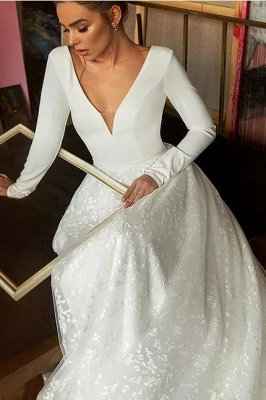 Wedding dresses cheap | Wedding dresses with sleeves_4