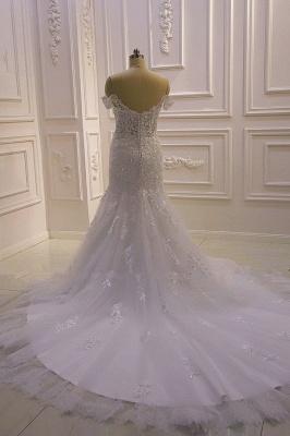 Brautkleider Meerjungfrau Spitze   Hochzeitskleider Günstig Kaufen_5