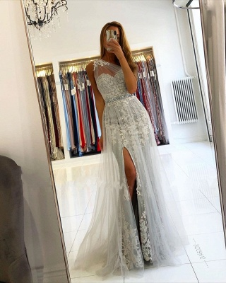 Elegant Evening Dresses Long Lace | Prom dresses glitter_5