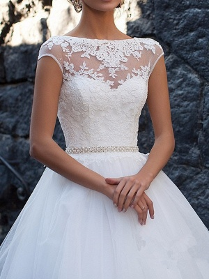 Sexy wedding dress A line | Vintage wedding dresses with lace_2