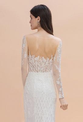 Designer Brautkleider Meerjungfrau | Hochzeitskleider Spitzeärmel_7