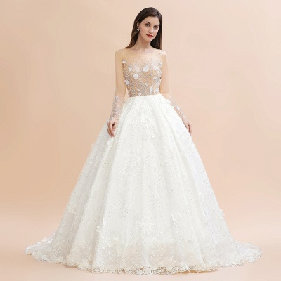 Princess wedding dresses with lace | Buy wedding dresses online_3