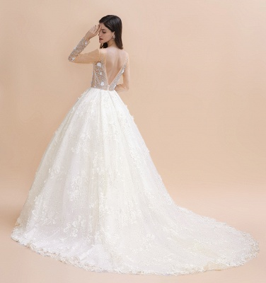Princess wedding dresses with lace | Buy wedding dresses online_6
