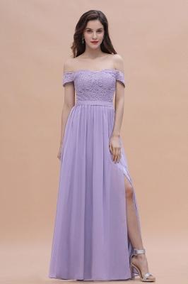 Brautjungfernkleider Lang Lavender | Hochzeitsgäste Partykleider Günstig_6