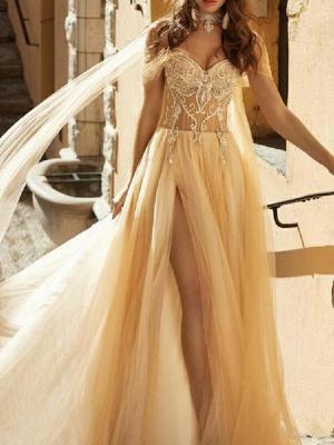 Wunderschöne Brautkleider Mit Spitze | Etuikleider Hochzeitsmoden Günstig_3