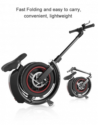 Faltbar Elektroroller E-Scooter 14 inch Breite Rad Höchstgeschwindigkeit 35Km / h E-Scooter_2