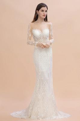 Designer Brautkleider Meerjungfrau | Hochzeitskleider Spitzeärmel_5