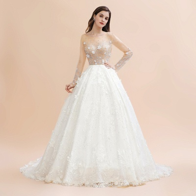 Princess wedding dresses with lace | Buy wedding dresses online_1