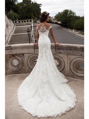 Wunderschöne Brautkleider Meerjungfrau | Spitze Hochzeitskleider Online_3