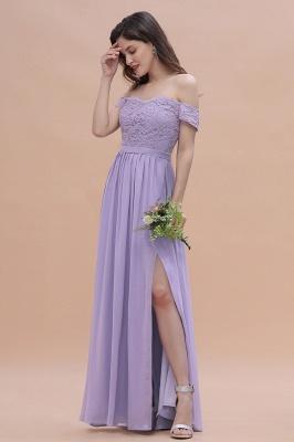 Brautjungfernkleider Lang Lavender | Hochzeitsgäste Partykleider Günstig_5