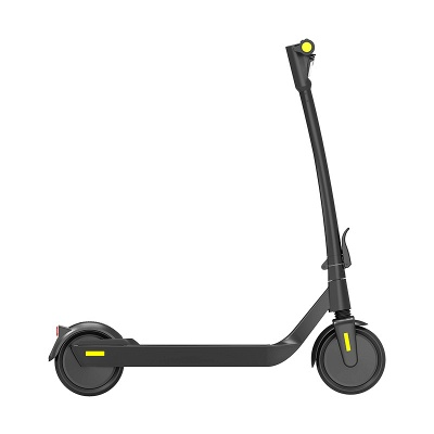 E-Scooter Foldable Electric Scooter Speed Adults up to 20 Km / h 8.5 Inch Inflatable LCD Display Portable Front and Rear Taillights (Black)_3