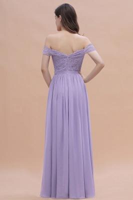Brautjungfernkleider Lang Lavender | Hochzeitsgäste Partykleider Günstig_3