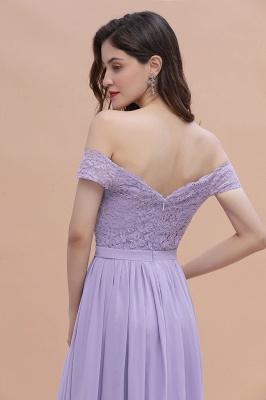 Brautjungfernkleider Lang Lavender | Hochzeitsgäste Partykleider Günstig_11