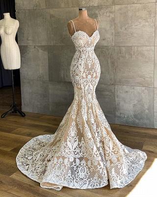 Designer Hochzeitskleid Meerjungfrau | Brautkleider mit Spitze_4