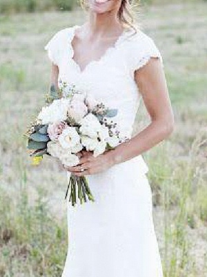 Designer wedding dress mermaid | Lace Wedding Dresses Cheap Online_3