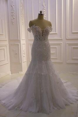 Brautkleider Meerjungfrau Spitze   Hochzeitskleider Günstig Kaufen_7